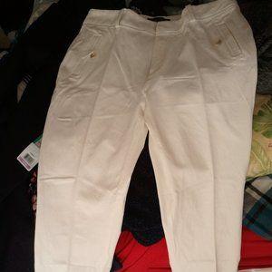 Banana Republic Stretch Cotton Capri Pants 4